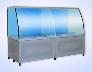 Аквариум для торговли живой рыбой АРГ