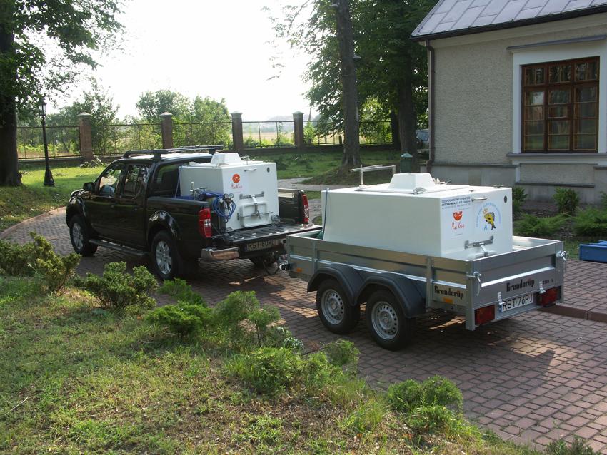 Комплектация машин для транспортировки рыбы