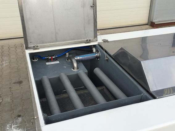 Аквариум для торговли 2000 литров