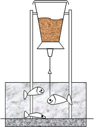 Кормушка маятниковая стеклопластиковая