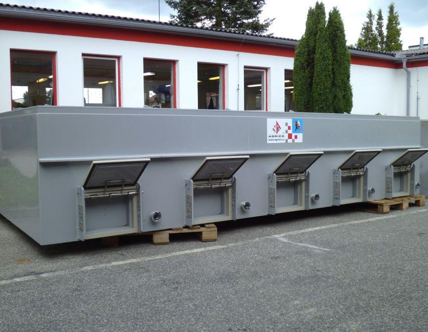 Моноблочный контейнер для перевозки живой рыбы, Чехия