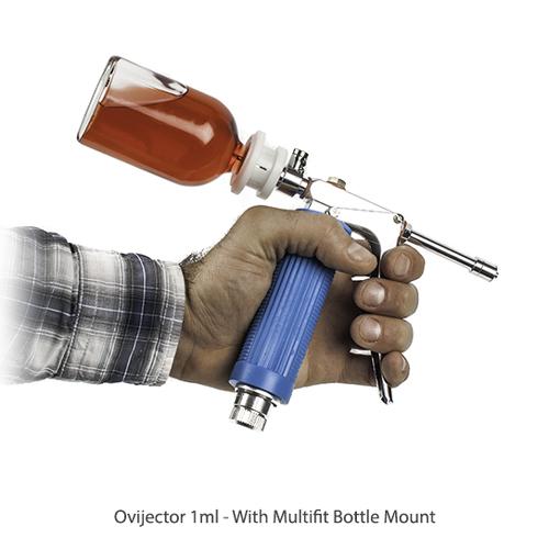 Ручной прививочный прибор с регулируемой дозой
