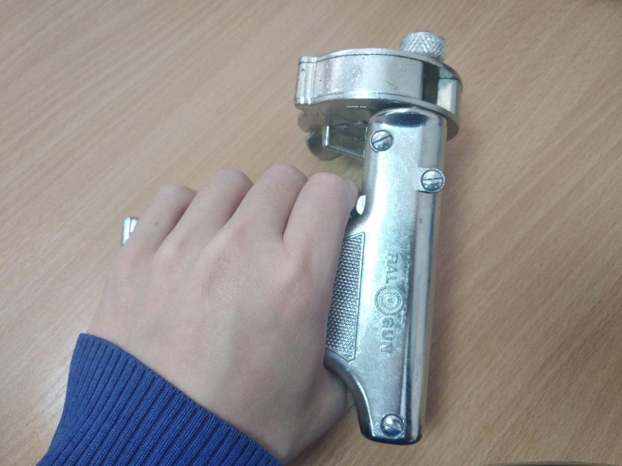 Мультиимплантерный пистолет RAL-200 и колесный катридж CAR-200
