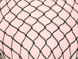 Пластины сетные узловые из полиамидных крученых ниток