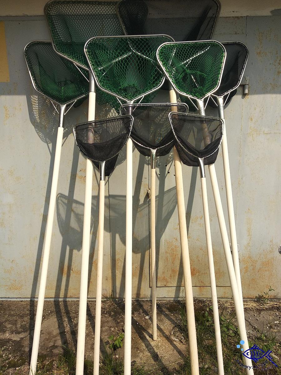 Сачки D-образные из нержавеющей стали