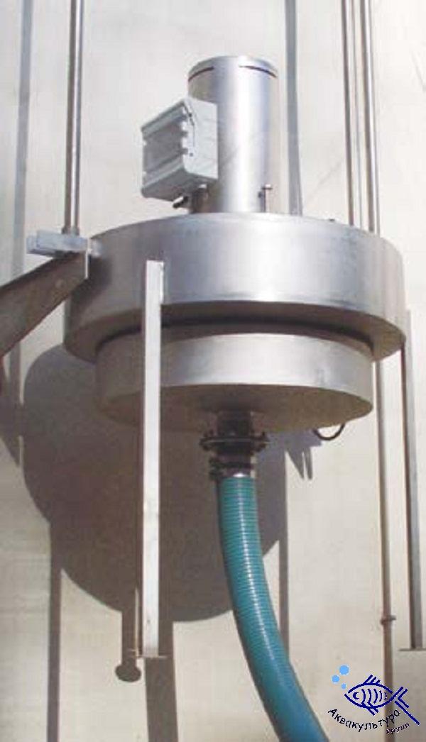 Плавающий водослив с механическим приводом