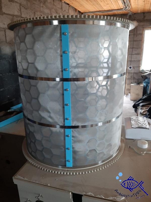 Барабанный фильтр из полипропилена