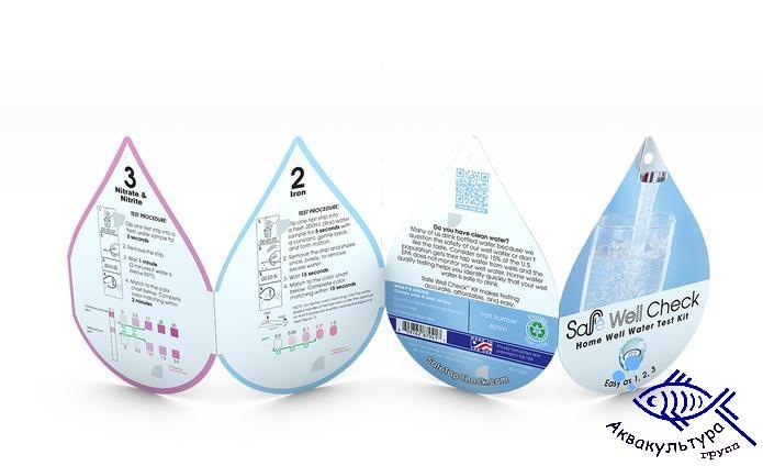 Тесты для воды из скважин  и колодцев