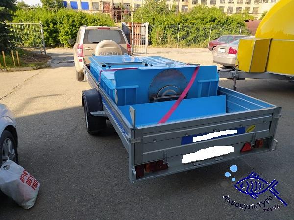 Ёмкость для перевозки рыбы объёмом 1,5 м3